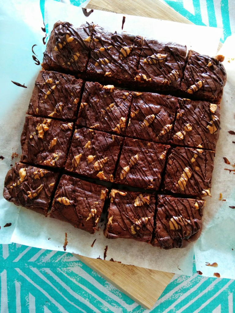 peanut butter brownie 3